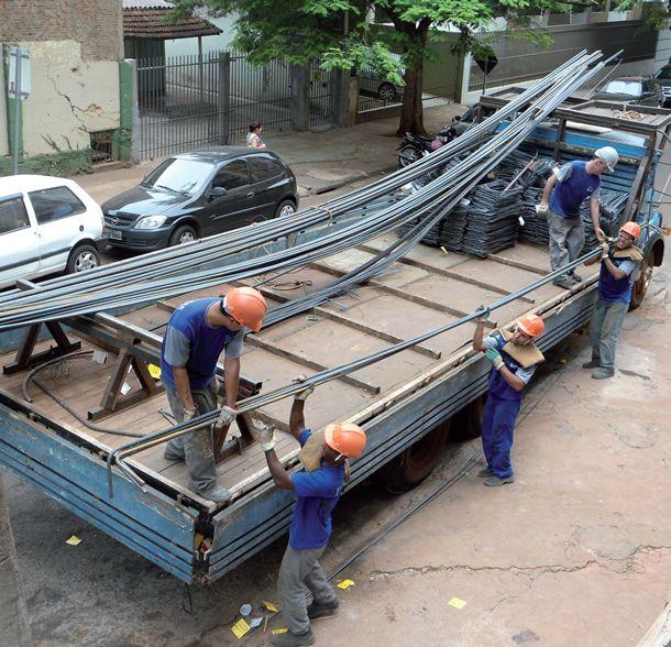 transporte de aço